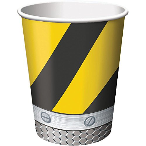 Construction Zone 9 oz. Cups