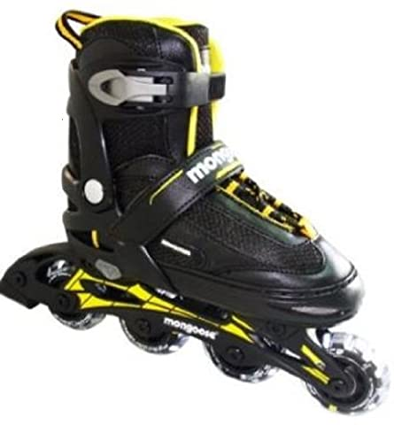 Mongoose Boy's Inline Skates, Large - Mongoose Comfort Bike
