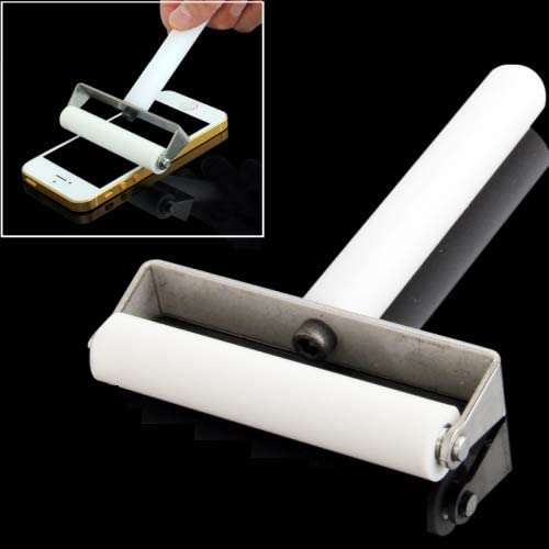 Galaxy S IV Mini Hyx Repair Tool 6cm Manual Dust Remove Silicone Roller for iPhone 5 /& 5C /& 5S i9192 i9190 White
