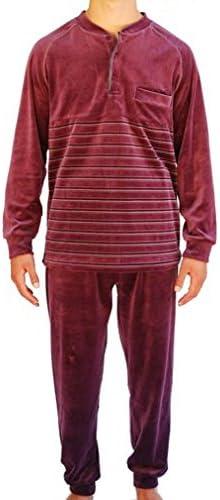Algodonea Pijama Caballero Terciopelo,