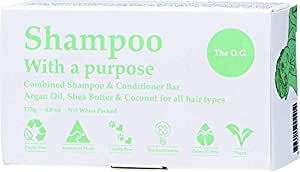 Shampoo with A Purpose Shampoo & Conditioner Bar for All Hair Types, 135 Grams