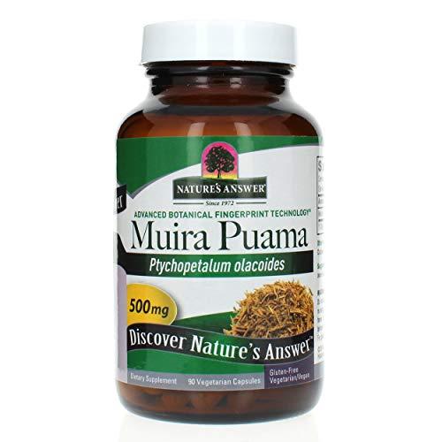 Nature's Answer Muira Puama Bark, 90-Count