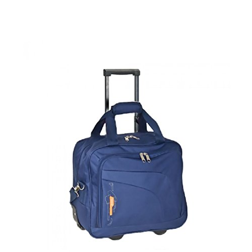 Gabol Handgepäck Laptop Trolley Week blau