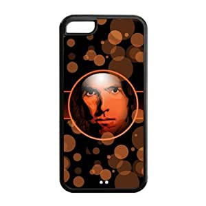 MMZ DIY PHONE CASEApple iphone 5c TPU Case with LA Lakers Steve Nash Image Background Design-by Allthingsbasketball