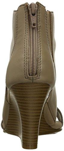 Aerosoles High Gloss Pelle Sandalo con la Zeppa