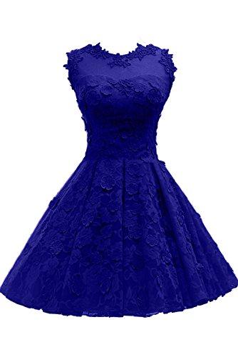 Kurz Royalblau Rot Abendkleider Spitze Partykleider Neu Cocktailkleider Ivydressing 2017 Festkleider E7qZSx