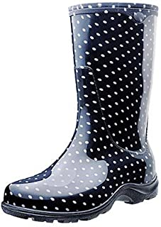 product image for Sloggers 5013BP09 Tall Boot, Black Polka Dot, Women's Size 9 - Quantity 6