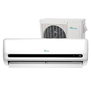 Senville SENL-18CD 18000 BTU 15 SEER Split Air Conditioner and Heat Pump, Mini