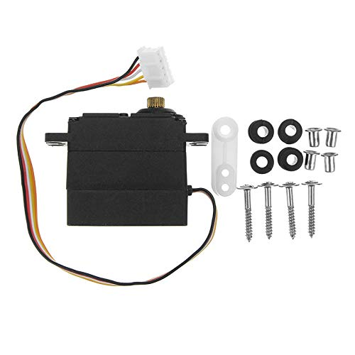- 19G 5 Wire Servo with Metal Gear for Feiyue 1/12 /16 SUBOTECH 1/12 RC Car Parts
