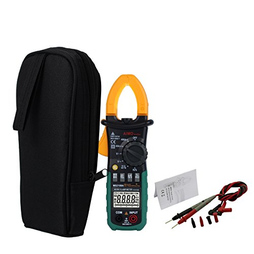 AIMO MS2108A Auto Range Digital Clamp Meter 400 AC DC Current Hz Tester by Aimo (Image #4)