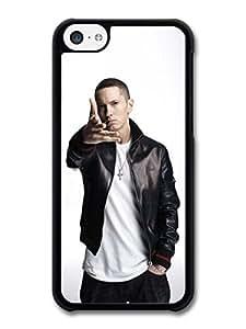 Eminem Hand Portrait Hip Hop Rapper case for iPhone 5C A1111