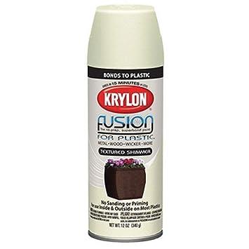 Amazoncom Krylon K02524000 Fusion For Plastic Textured Shimmer