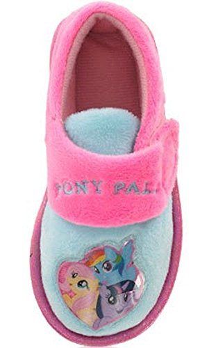 Mädchen Kinder Quality My Little Pony Suzanna Comic Comicfigur Hausschuh Stiefel - Mehrfarbig, UK 12/EU 30 - Pre School