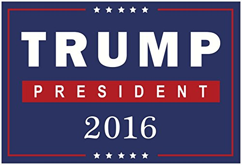 Trump For President 2016 Poster 19 x 13in