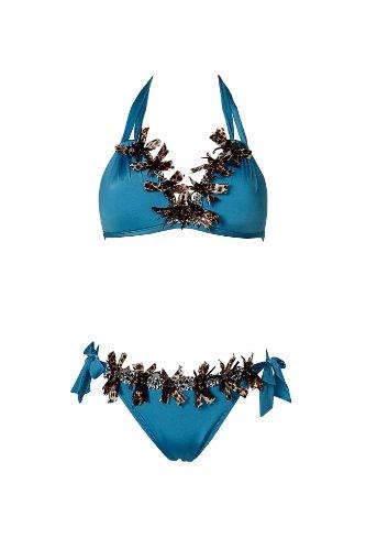 APART Fashion - Triangel-Bikini , Farbe TUERKIS, Gr. 42 Cup B