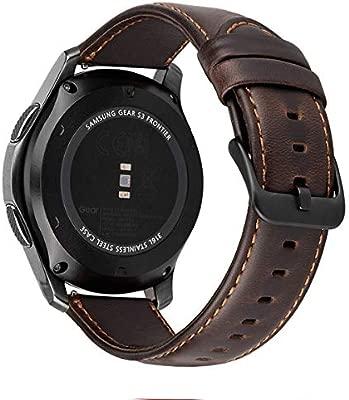 MroTech Correa Gear S3 Compatible para Samsung Galaxy Watch 46mm/S3 Frontier/Classic Pulseras de Repuesto para Huawei Watch GT 2 /GT ...
