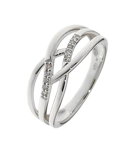 Bague Or 750 Diamant ref 28699