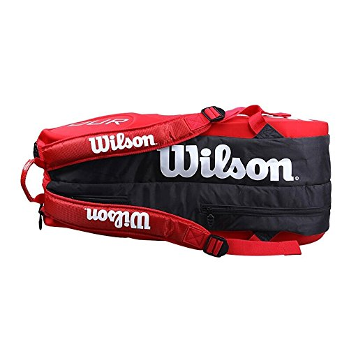 Wilson Tour Molded (9-Pack) Tennis Bag (Red) by Wilson (Image #3)