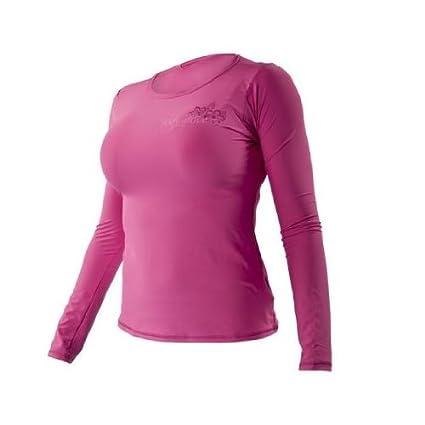 Amazon.com   Body Glove Women s Deluxe Long Arm Loosefit Rashguard ... fc1f04a2a