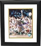Athlon CTBL-BW17642 Orlando Cepeda Signed San Francisco Giants Photo Custom Framed - Batting - 8 x 10