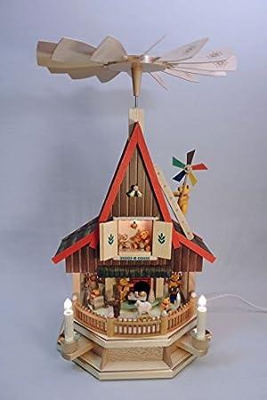 Weihnachtsdeko Seiffen.El Bel Bärenhaus Pyramide Seiffen Weihnachtsdeko Seiffen 53cm