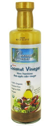 Coconut Secret Organic Raw Coconut Vinegar-12 Oz by Coconut Secret