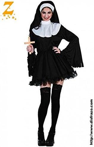 Fyasa 706111-t04 Naughty monja disfraz, tamaño grande: Amazon.es ...