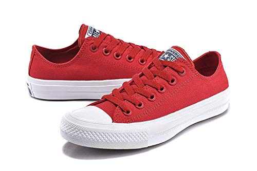 Canvas Top Taylor Red II Converse Low Chuck All Salsa Shoes Star Unisex Eq7q81Axw