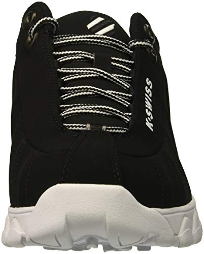 White ST329 K Black Swiss Men's Black STnnEIg