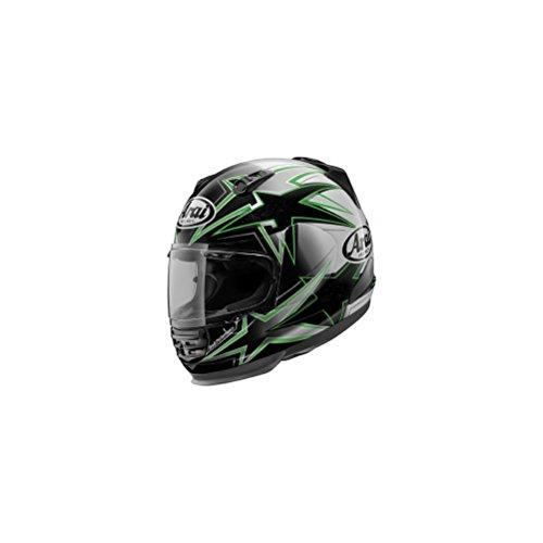 Arai Helmet Shield Cover - Arai Helmets Shield Cover Set for Defiant Helmet - Asteroid Green 5168