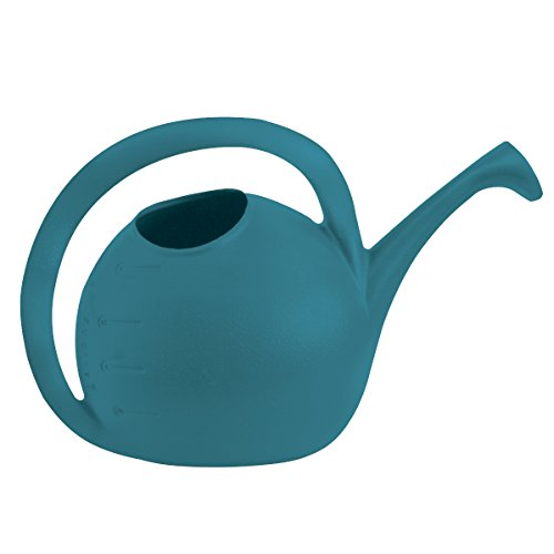 Myer Industries Akrrzwc2g1da6   Akro Mils Value Watering Can  Blue  2 Gallon