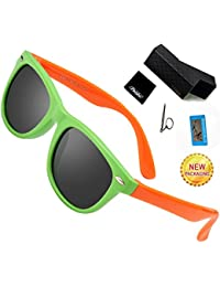 Kids Sunglasses For Kids- FEIDU Polarized Sunglasses...