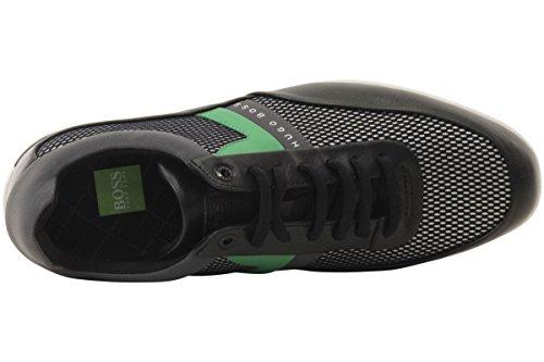 Hugo Baas Mens Space Mesh Sneakers Schoenen Open Zwart