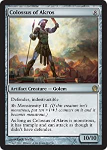 Magic: the Gathering - Colossus of Akros (214/249) - Theros