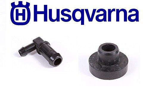 Husqvarna Genuine 532139277 Fuel Tank Stem & 532003645 Bushing Combo - Tank Husqvarna Fuel