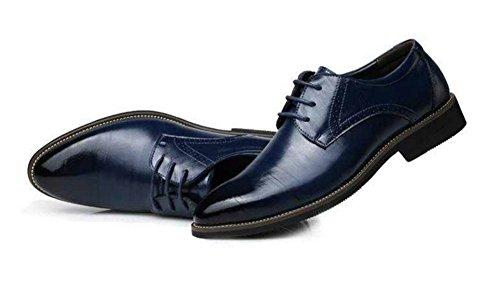 da moda casual uomo business da uomo in uomo delle pelle stagioni quattro XIE pelle uomo in Scarpe Scarpe 47 uomo pelle blue 38 da Scarpe alla in da da qR4xn7