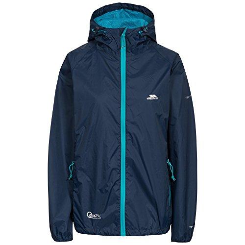 Coupe Marine Bleu Qikpac Femme pluie Vestes Female Jacket Trespass Iw4vx