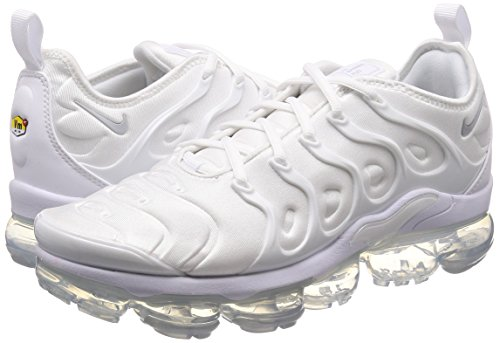 Hombre Platinum White Blanco para NIKE Zapatillas White 001 Plus Pure Air Vapormax qZgwxXB4