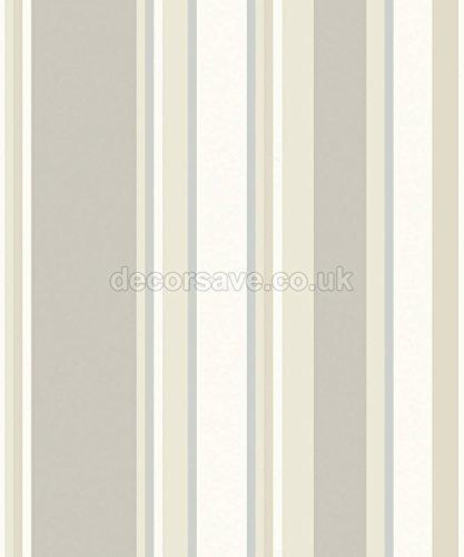 arthouse vip orla diseo de rayas neutro u papel pintado diseo de rayas color plateado metlico