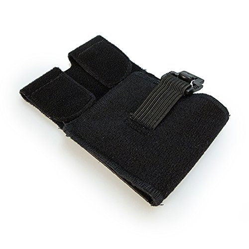 Foot-Up Large Black Shoeless Wrap for Drop Foot