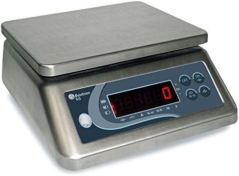 Balanza Acero Inoxidable Baxtran SS15 (15kgx1g) (23x19cm) Protección IP-67