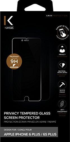 The Kase 19387444Pellicola di protezione di schermo privata in vetro temprato per iPhone 6Plus/6S Plus