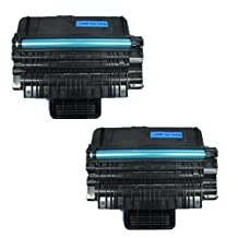 Amsahr ML2850 Samsung ML2850, ML 2850, 2850D Compatible Replacement Toner Cartridge with Two Black Cartridges