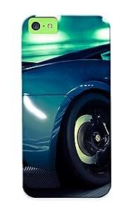 New Premium Exultantor Lamborghini Gallardo Gran Turismo 5 Skin Case Cover Design Ellent Fitted For Iphone 5c For Lovers