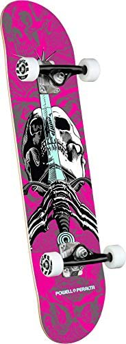 Powell-Peralta Skull Sword One Off Pink Complete Skateboard