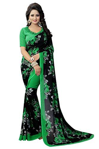 Ruchi Mart Indian Bollywood Saree Party Wear Georgette Ethnic Wedding Designer - Wedding Saree Bollywood