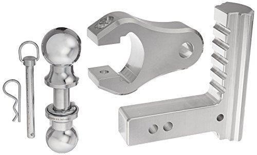 "Trimax TRZ6ALRP 6"" Aluminum Adjustable Hitch with Dual Hi..."