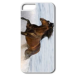 Designed Funny Best Seaside Horse IPhone 5/5s Case For Family