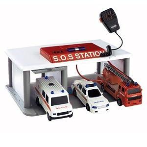 Fast Lane Sos Vehicle Garage Station Amazon Co Uk Toys