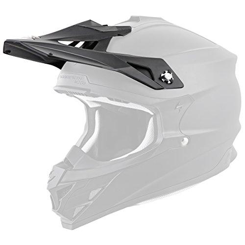 Scorpion Peak Visor Vx-35 Motorcycle Helmet Accessories - Matte Black/One Size by Scorpion (Image #2)